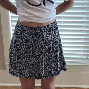 H&M flower skirt